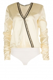 Patrizia Pepe |  Silk body Samyra | white  | Picture 1