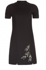 Patrizia Pepe |  Metallic dress Diamond | black  | Picture 1