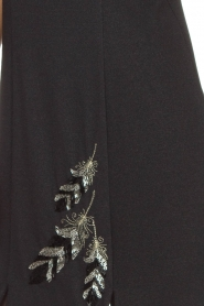 Patrizia Pepe |  Metallic dress Diamond | black  | Picture 6