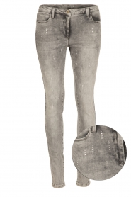 Patrizia Pepe |  Skinny jeans Bernice | grey   | Picture 1