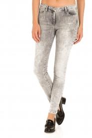 Patrizia Pepe |  Skinny jeans Bernice | grey   | Picture 2