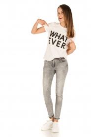 Patrizia Pepe |  Skinny jeans Bernice | grey   | Picture 3