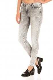 Patrizia Pepe |  Skinny jeans Bernice | grey   | Picture 4
