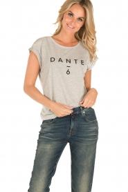 Dante 6 | T-shirt logo | grijs  | Afbeelding 2