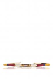 Satellite Paris | 14k verguld gouden armband Tanarive | goud  | Afbeelding 2