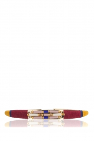 Satellite Paris | 14k verguld gouden armband Tanarive | goud  | Afbeelding 1