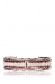 Satellite Paris |  Silver bracelet Tsinga | silver  | Picture 2