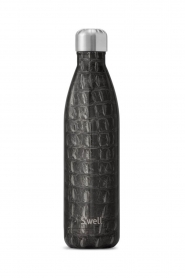 Thermosfles warm/koud Crocodile 500 ml | zwart