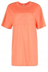 ELISABETTA FRANCHI   Sport T-shirt jurk Bree   oranje    Afbeelding 1