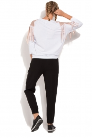 ELISABETTA FRANCHI |  Sport top Shine | white  | Picture 6