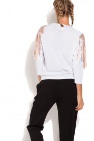 ELISABETTA FRANCHI |  Sport top Shine | white  | Picture 5