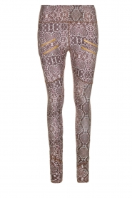 Varley | Slangenprint sportlegging Palms | dierenprint