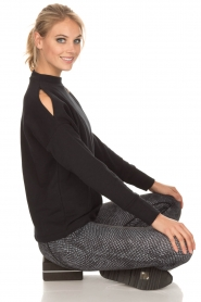 Varley | Sweater Keystone | zwart  | Afbeelding 3