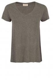 American Vintage   T-shirt Jacksonville   grijs    Afbeelding 1