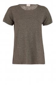 American Vintage | Ronde hals T-shirt Jacksonville | grijs  | Afbeelding 1