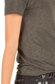 American Vintage | Ronde hals T-shirt Jacksonville | grijs  | Afbeelding 6
