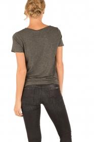 American Vintage | Ronde hals T-shirt Jacksonville | grijs  | Afbeelding 5