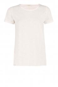 American Vintage | Ronde hals T-shirt Jacksonville | wit  | Afbeelding 1