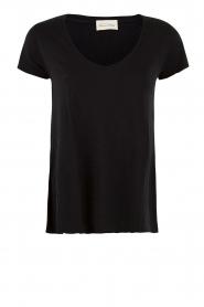 American Vintage | T-shirt Jacksonville | zwart  | Afbeelding 1
