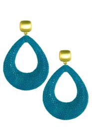 Miccy's | Stingray Drops | turquoise  | Afbeelding 1