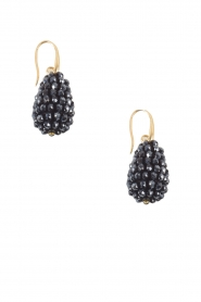 Crystal Drops Small | zwart