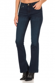 Lois Jeans | Flared jeans Melrose lengtemaat 32 | blauw  | Afbeelding 4