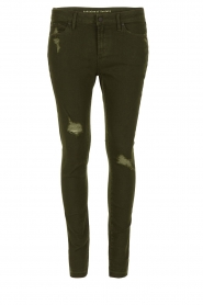 Articles of Society |  Cropped skinny jeans Murry | green  | Picture 1