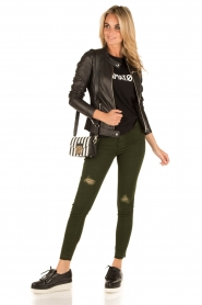 Articles of Society | Cropped skinny jeans Murry | groen  | Afbeelding 3