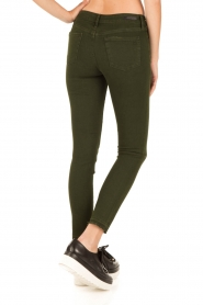 Articles of Society | Cropped skinny jeans Murry | groen  | Afbeelding 5