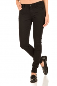 Articles of Society | Skinny jeans Mya | zwart  | Afbeelding 2