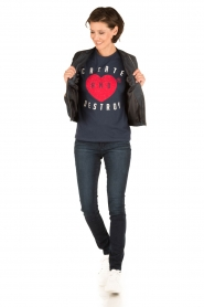 Articles of Society | Skinny jeans Mya | blauw  | Afbeelding 3
