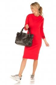 Amatør | Sweaterjurk Bash | rood  | Afbeelding 3