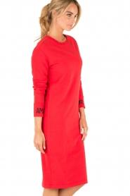 Amatør | Sweaterjurk Bash | rood  | Afbeelding 4