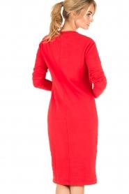 Amatør | Sweaterjurk Bash | rood  | Afbeelding 5