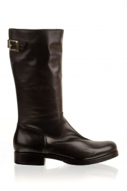 Noe |  Leather boot Nucca | black  | Picture 1