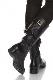 Noe |  Leather boot Nucca | black  | Picture 2
