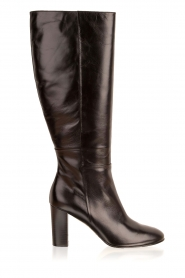 Noe |  Leather boots Nives | black   | Picture 1