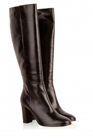 Noe |  Leather boots Nives | black   | Picture 3