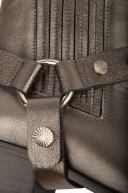 Toral | Leren metallic enkellaarzen Eclat | grijs  | Afbeelding 6