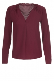 Blouse Mila | rood