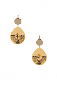 Satellite Paris | 14k vergulde golden earrings Nova | goud  | Afbeelding 1
