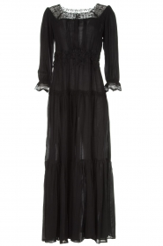 ELISABETTA FRANCHI | Maxi-jurk Gwen | zwart  | Afbeelding 1