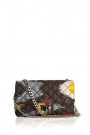 Rough Studios   Mini Bandita tas   geel/zwart    Afbeelding 2