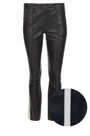 Arma | Lamsleren broek San Remo | zwart  | Afbeelding 1