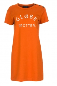 Amatør | Jurk Globe | oranje  | Afbeelding 1