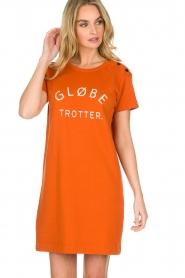 Amatør | Jurk Globe | oranje  | Afbeelding 4