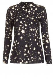 Blouse Star | zwart