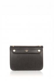 Furla | Leren tas Metropolis Mini met verwisselbare flap Play e1| zwart  | Afbeelding 4