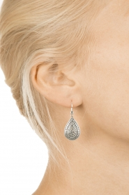 Close to Zen | 925 sterling oorbellen Wild Flowers | zilver  | Afbeelding 3