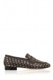 Toral | Loafer met gouden studs Videl | zwart  | Afbeelding 1